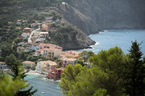 A bird's-eye view of Villa Vivere