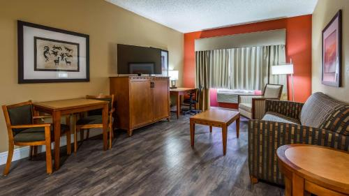 Zona de estar de Best Western Plus At Lake Powell