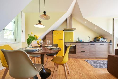 A kitchen or kitchenette at Lisbon Best Choice Apartments Alfama