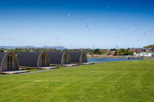 Let's Go Hydro Glamping Pods With Linen, Belfast