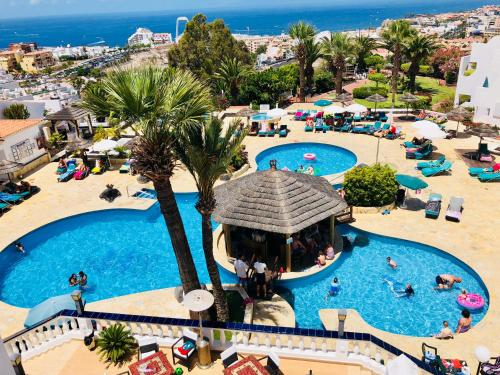 A view of the pool at Regency Torviscas Apartments and Suites or nearby