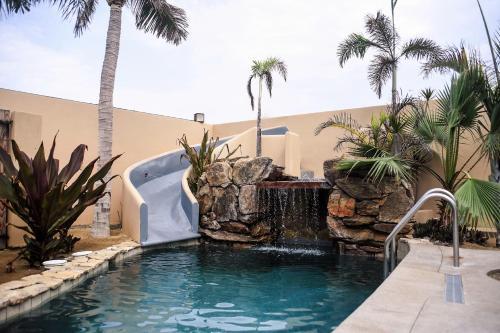 The swimming pool at or near Cerritos Beach Inn