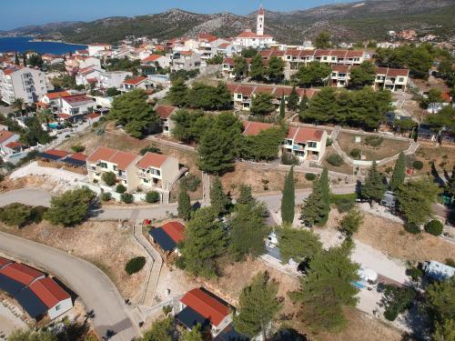 Een luchtfoto van Apartments Belvedere