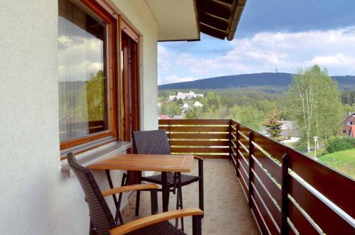 A balcony or terrace at Landhaus Lederer