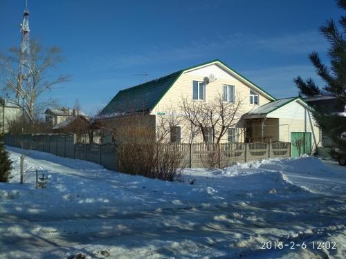 Guest House Domashniy Uyut зимой