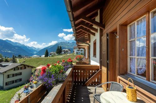 Ein Balkon oder eine Terrasse in der Unterkunft Hotel Gravas Lodge