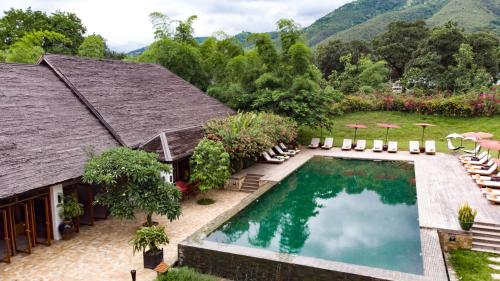 A view of the pool at Villa Inle Boutique Resort or nearby