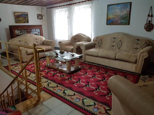 A seating area at Eva Guesthouse