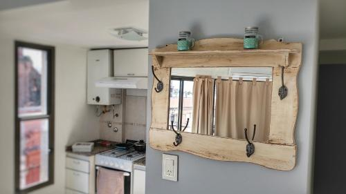 Una cocina o kitchenette en Departamento Centro