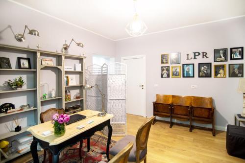 Area soggiorno di La Piazzetta Rooms