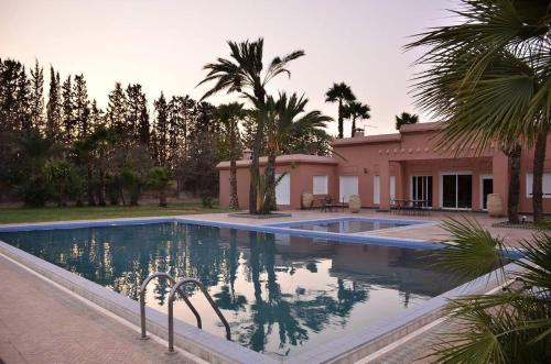 The swimming pool at or near Best Villa Marrakech
