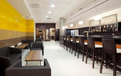 The lounge or bar area at Clarion Congress Hotel Ostrava