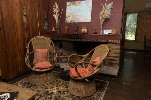 A seating area at Bonanza Deltaventura, tu estancia en el Delta