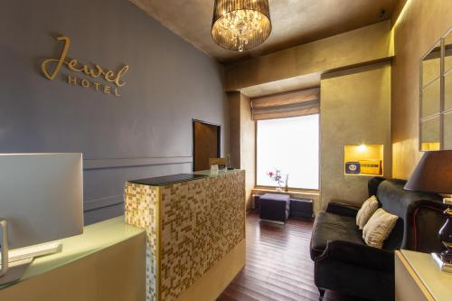 Гостиная зона в Design Hotel Jewel Prague