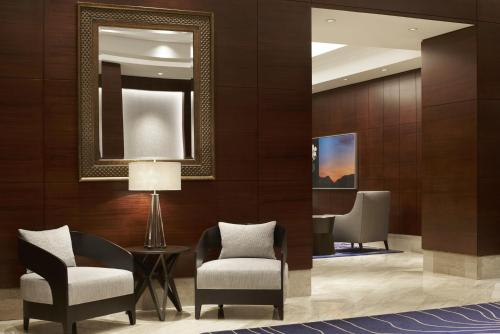 A seating area at The Ritz-Carlton, Denver