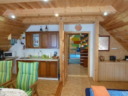 Kuchyňa alebo kuchynka v ubytovaní Vesnická usedlost