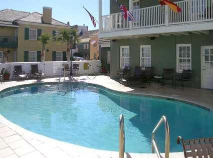 The swimming pool at or near Hilton Saint Augustine Historic Bayfront