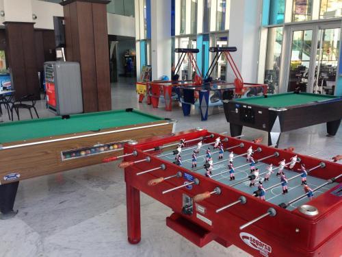 A pool table at Ágora Spa & Resort