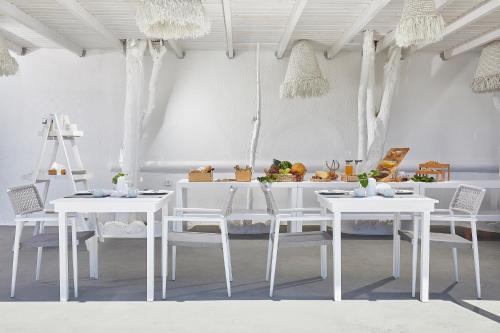Restaurant ou autre lieu de restauration dans l'établissement Petri Suites