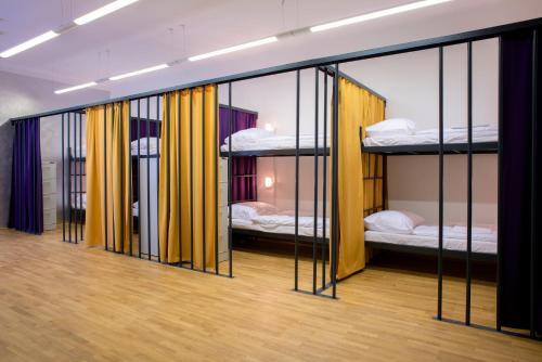 Litera o literas de una habitación en Hostel Tresor