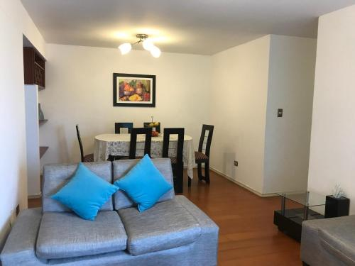 Zona de estar de Apartamento Paracas