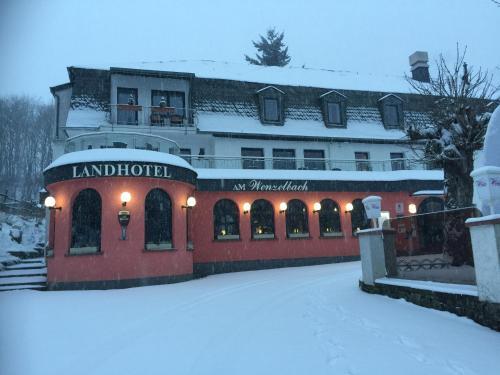 Landhotel am Wenzelbach im Winter