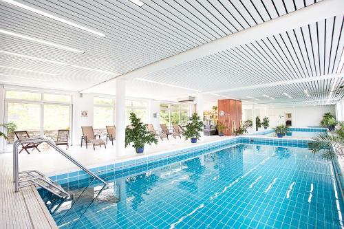 Der Swimmingpool an oder in der Nähe von Hotel Diana