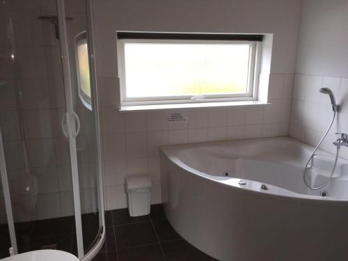 Koupelna v ubytování Ferienhaus Ostseeperle