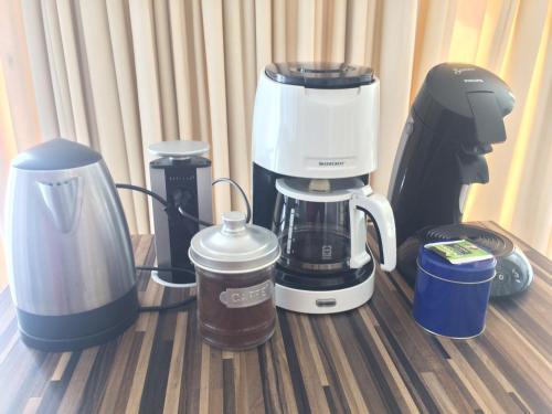 Coffee and tea-making facilities at Leidseplein Night Life
