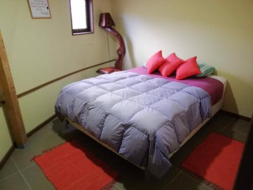 Cama o camas de una habitación en Lizard Domes