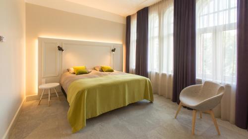Voodi või voodid majutusasutuse Park Hotell Viljandi toas
