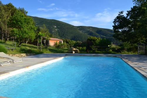 """The swimming pool at or near Gîte """"Bois-Mariage"""""""