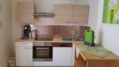 Küche/Küchenzeile in der Unterkunft Haus Anika Ferienwohnung