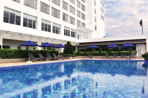 The swimming pool at or near Novotel Taiping