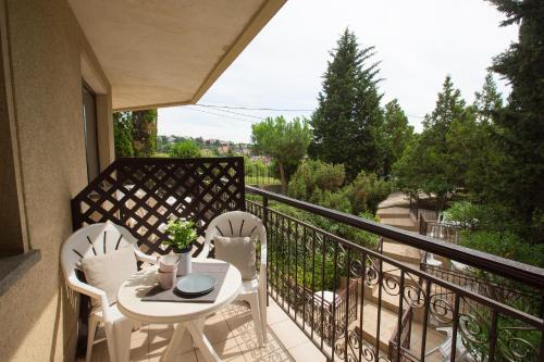 Балкон или терраса в Helios Apartman Hotel