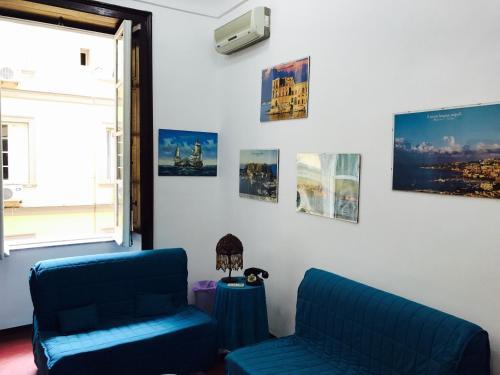 Area tempat duduk di Parthenope's home