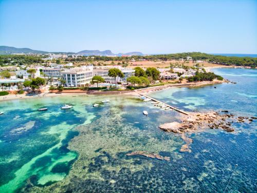 A bird's-eye view of ME Ibiza - The Leading Hotels of the World