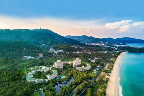 A bird's-eye view of Hilton Phuket Arcadia Resort & Spa