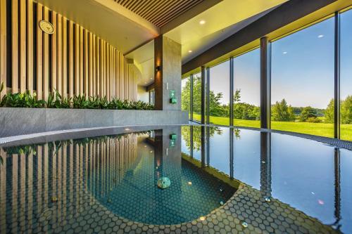 The swimming pool at or near Vilnius Grand Resort