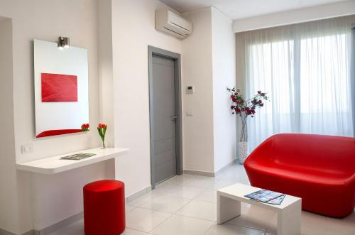 Koupelna v ubytování Giulivo Hotel & Village