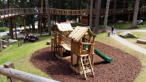 Children's play area at Nido nelle Dolomiti Apartment