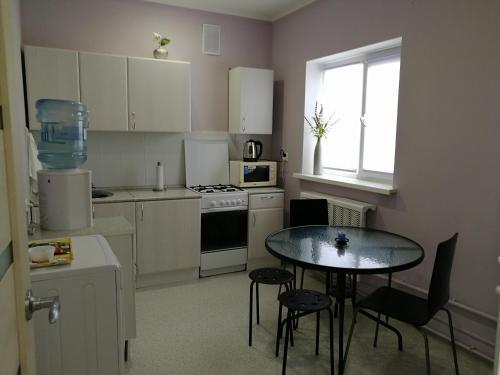 A kitchen or kitchenette at Maksimilian