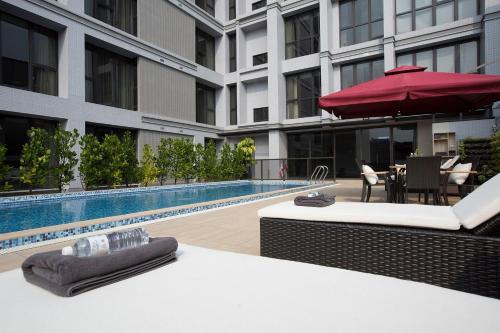 南院旅墅游泳池或附近泳池