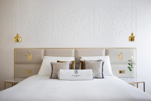 Cama ou camas em um quarto em Hotel Bowmann
