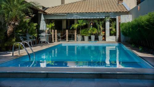 The swimming pool at or near Via Mar Praia Hotel