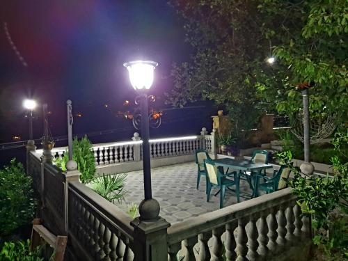 A balcony or terrace at Classic hotel