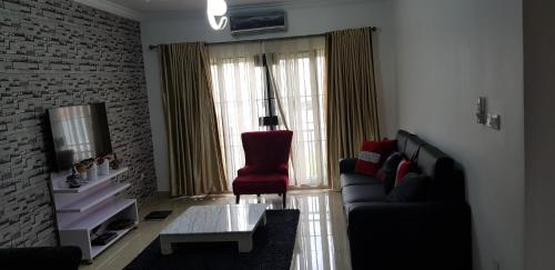 A seating area at Asa Luxury 2Bedroom Apartment