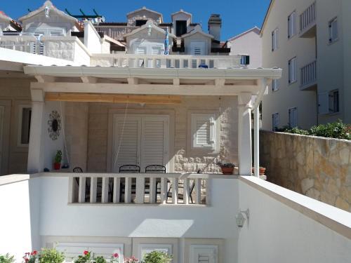 Balkón nebo terasa v ubytování Holiday Home Venato