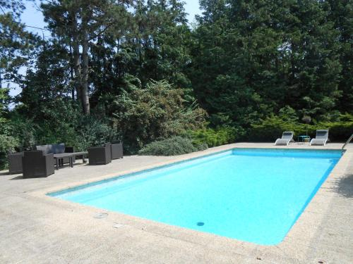 The swimming pool at or near La Passagere