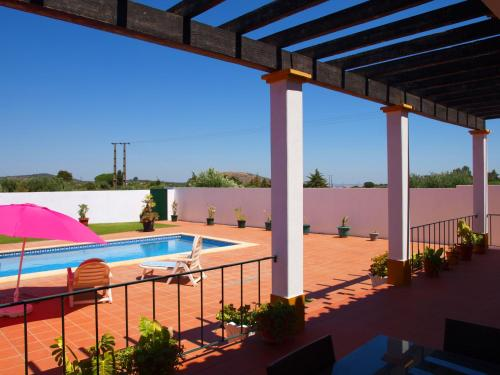 The swimming pool at or near Chalé Chafaris D'el Rei